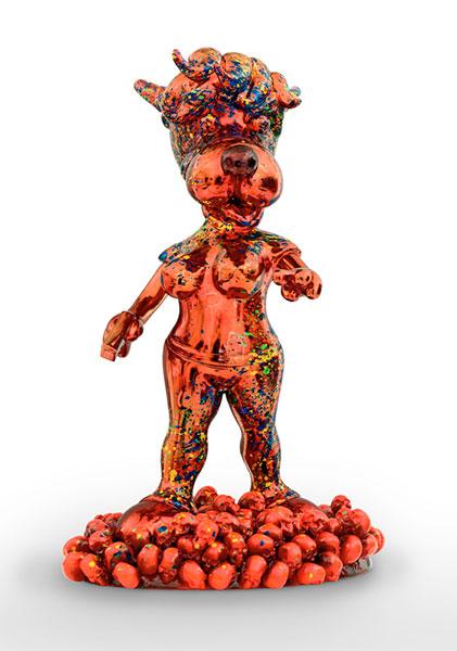 Sans titre - 54cm - Sculpture - 1 sur 1 - 2017 - Michel Soubeyrand